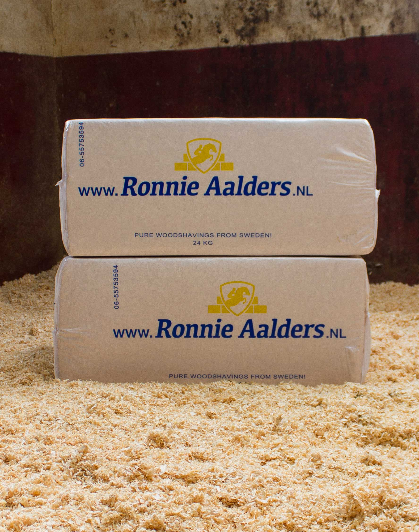 Ronnie Aalders houtkrullen 24kg