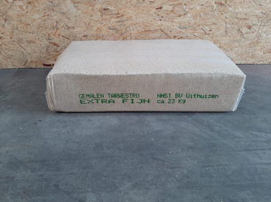 ronnie aalders gemalen tarwestro extra fijn 23 geleverd op pallet rundvee melkvee